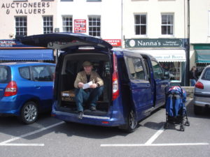 Ford Transit Connect 2015 in Shaviock Cornwall England