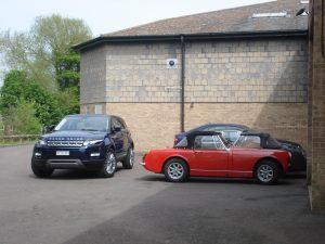 Range Rover Evoque Prestige Si4 2012 Baltic Blue